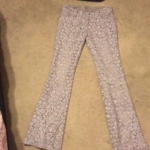 Pants - Bell bottom lace pants